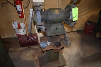 Cincinnati 1 HP Double end Pedestal Grinder, 220 Single Phase