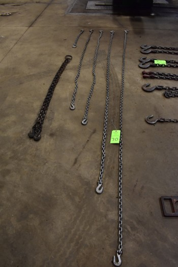 Lot of (6) Lifting Chains