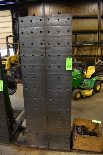 (2) Steel Angle Plates, 79\