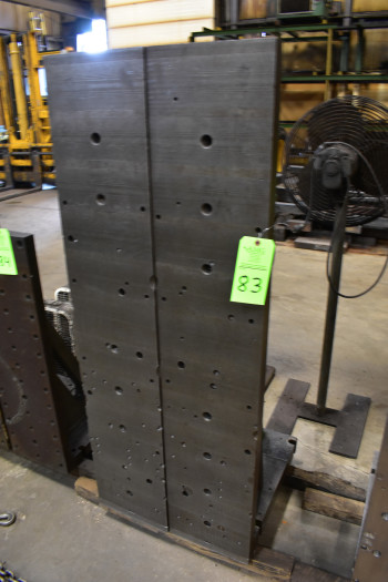 (2) Steel Angle Plates, 61\