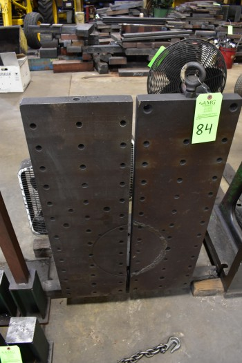 (2) Steel Angle Plates, 40\