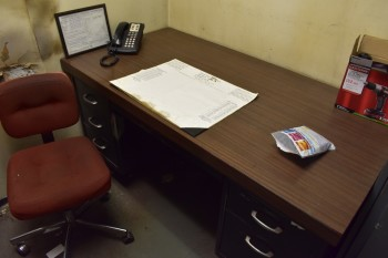 Plant Mgr. Office w/Contents
