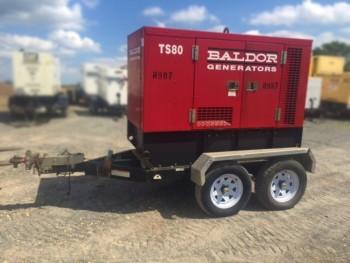2002 BALDOR TS80 GENERATOR