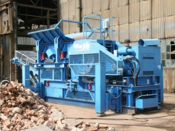 2005 PARKER RJ0850 JAW CRUSHER