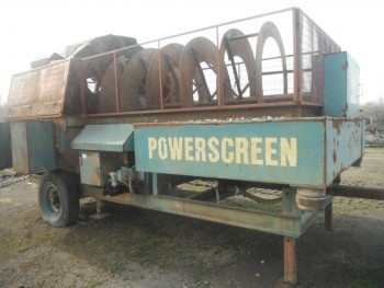 2005 USED POWERSCREEN TRIDENT 1