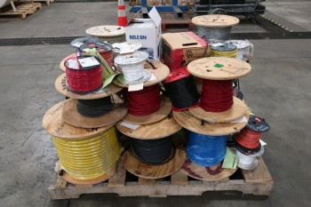 1 PALLET OF ASSORTED CABLE-WIRE
