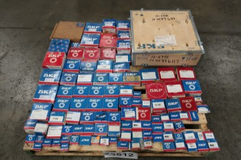 1 PALLET OF ASSORTED SKF BEARINGS