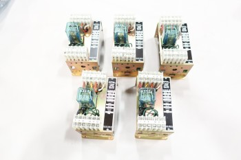 LOT OF 5 ASCO VOLTAGE MONITOR 3PH 214A293 120/208V