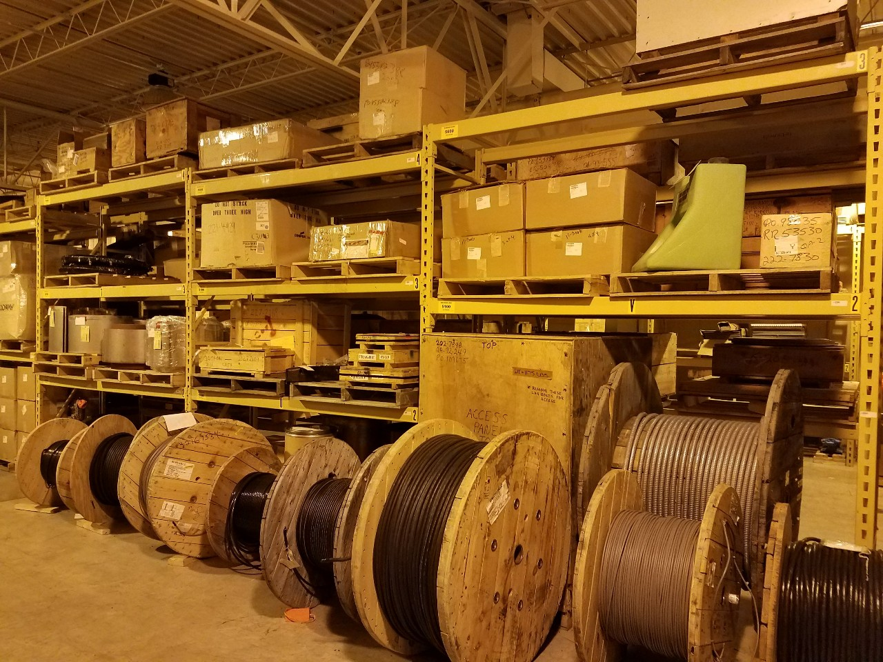 NRI Industrial Sales Inc. for event Wisconsin Nuclear Plant - Spare Parts and Equipment (DAY 1)