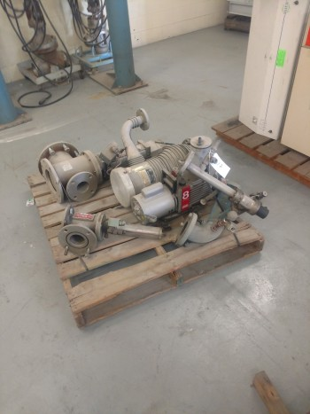 (1) Pallet of Varian Diffusion Pumps, Type 0184