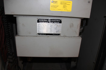 Primary Substation and Switches,GE Magne Blast Circuit Breakers, Qty 8
