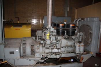 Diesel Generator (Located In Powerhouse)