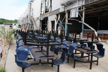 6-chair tables (Chairs attached to tables) Qty. 29